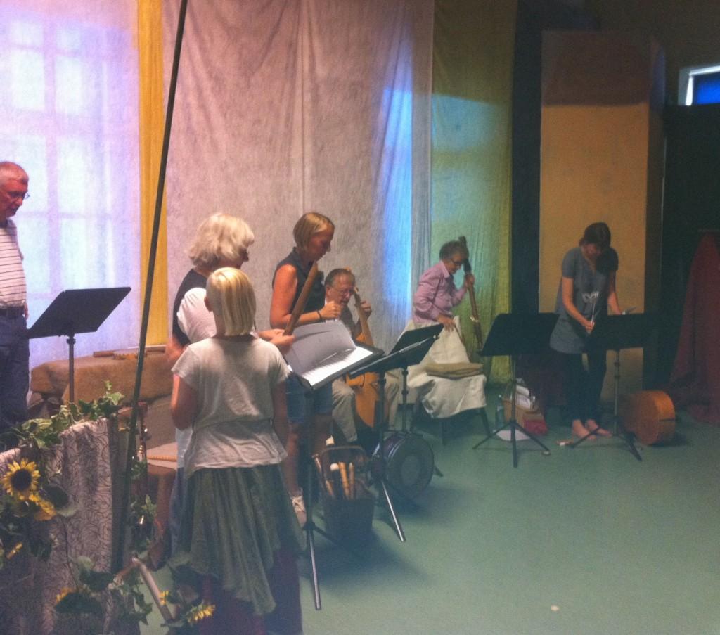 Ensemble, uppställning
